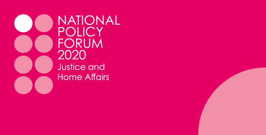 Logo for the Justice and Home Affairs Policy Commission