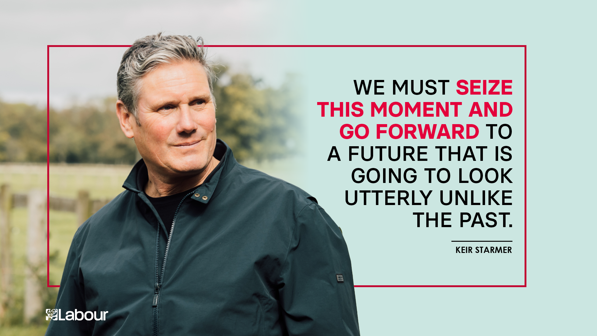 Quote from Keir Starmer speech